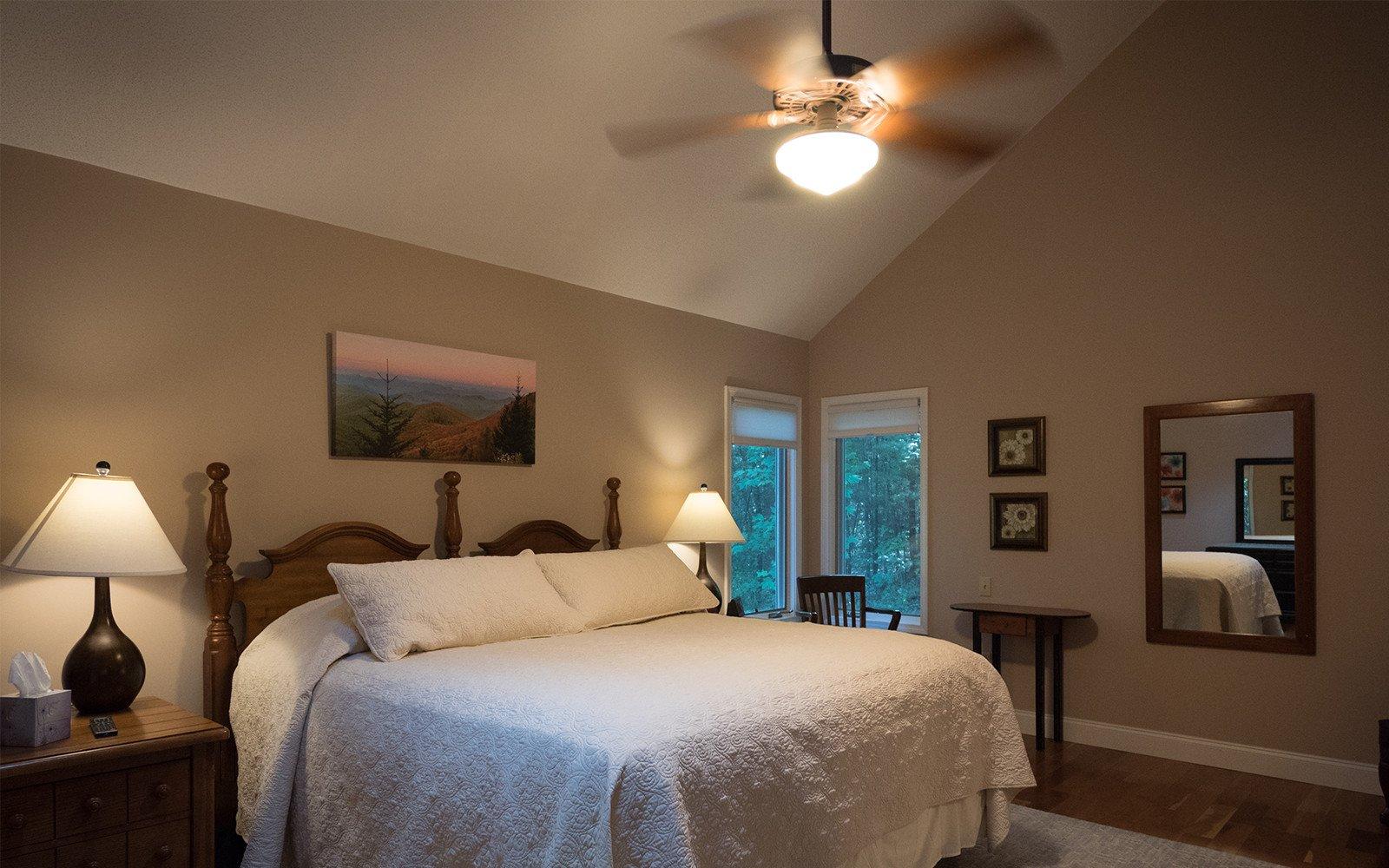 Hilt Street house Master bedroom King