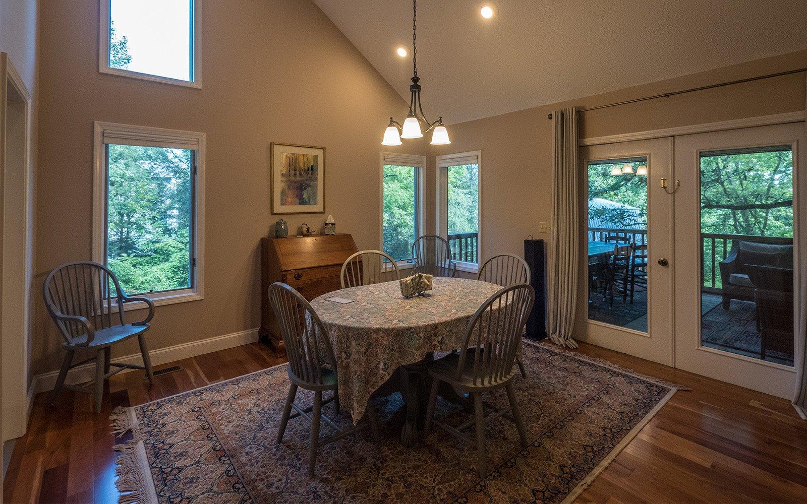 Hilt Street house dining room