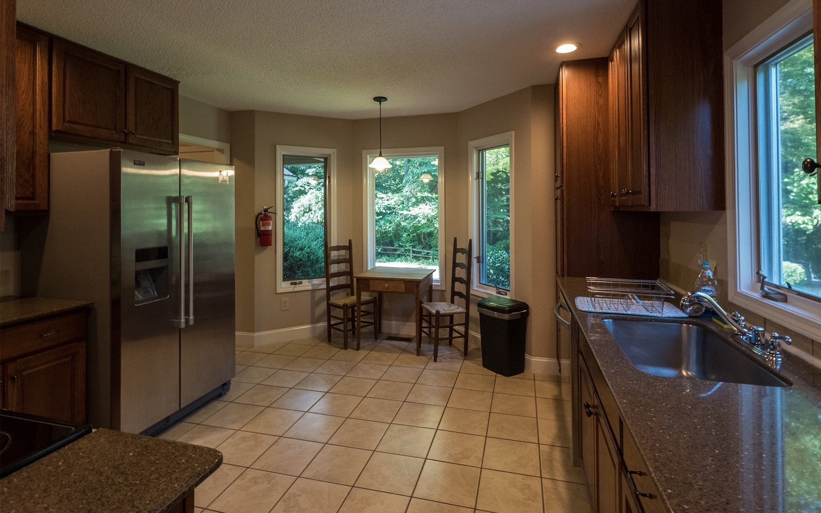 Hilt Street house kitchen - Vacation Homes in Brevard North Carolina