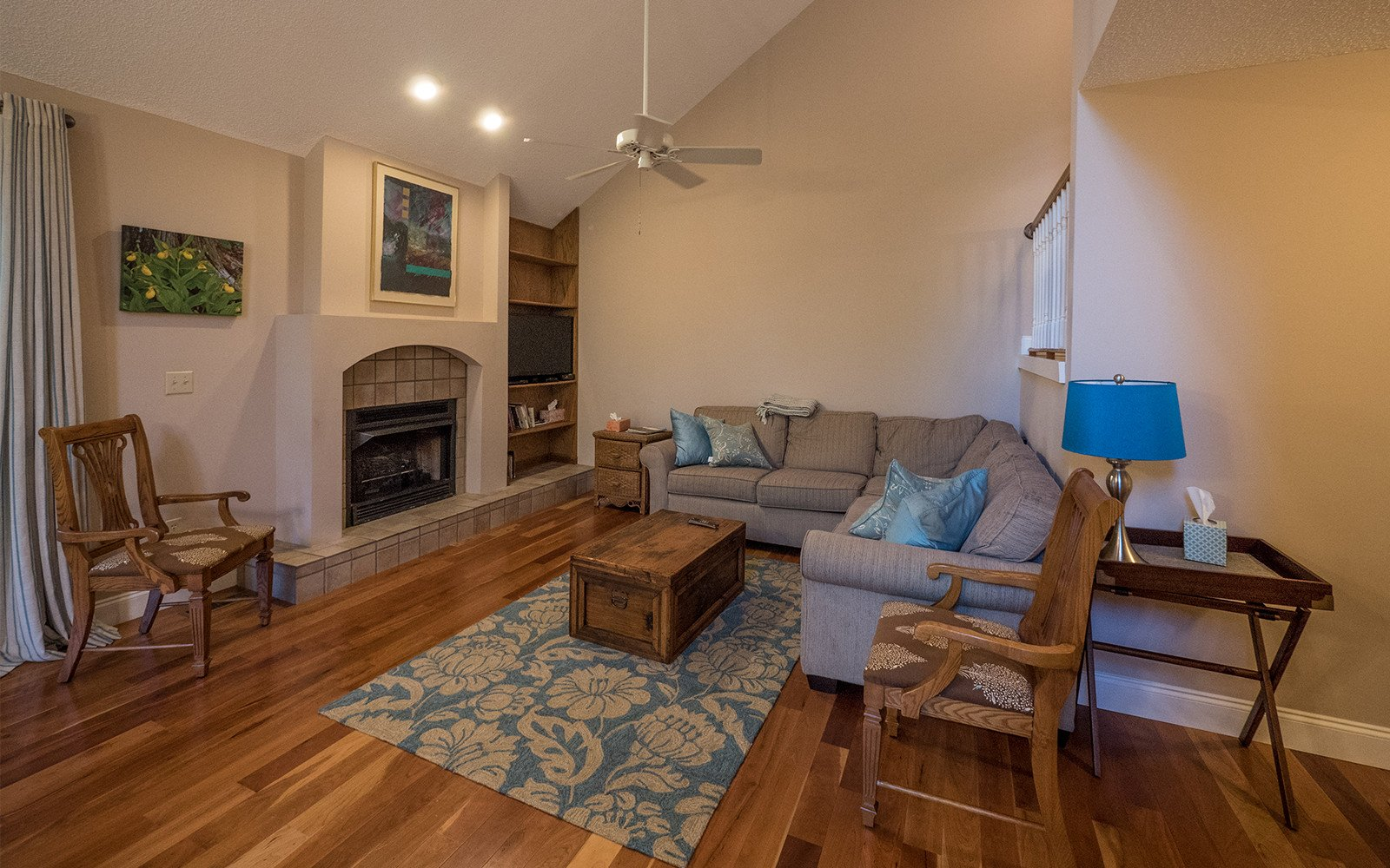 Hilt Street house living room