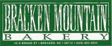 Bracken Mountain Bakery Brevard NC
