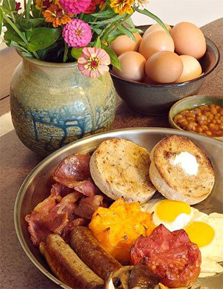 Breakfast - Red House Inn - Brevard's #1 Bed & Breakfast - bed and breakfast hendersonville nc